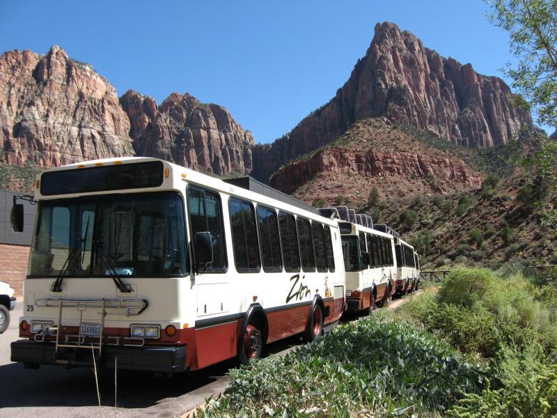 Zion Canyon Shuttle Service
