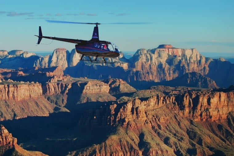 Zion Helicopter in Springdale and Zion National Park